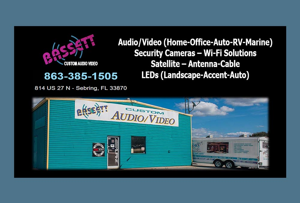 basset custom audio video information
