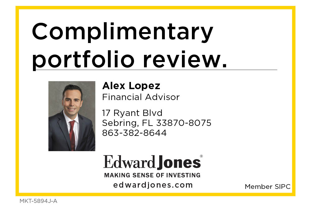 Alex Lopez, Financial Advisor