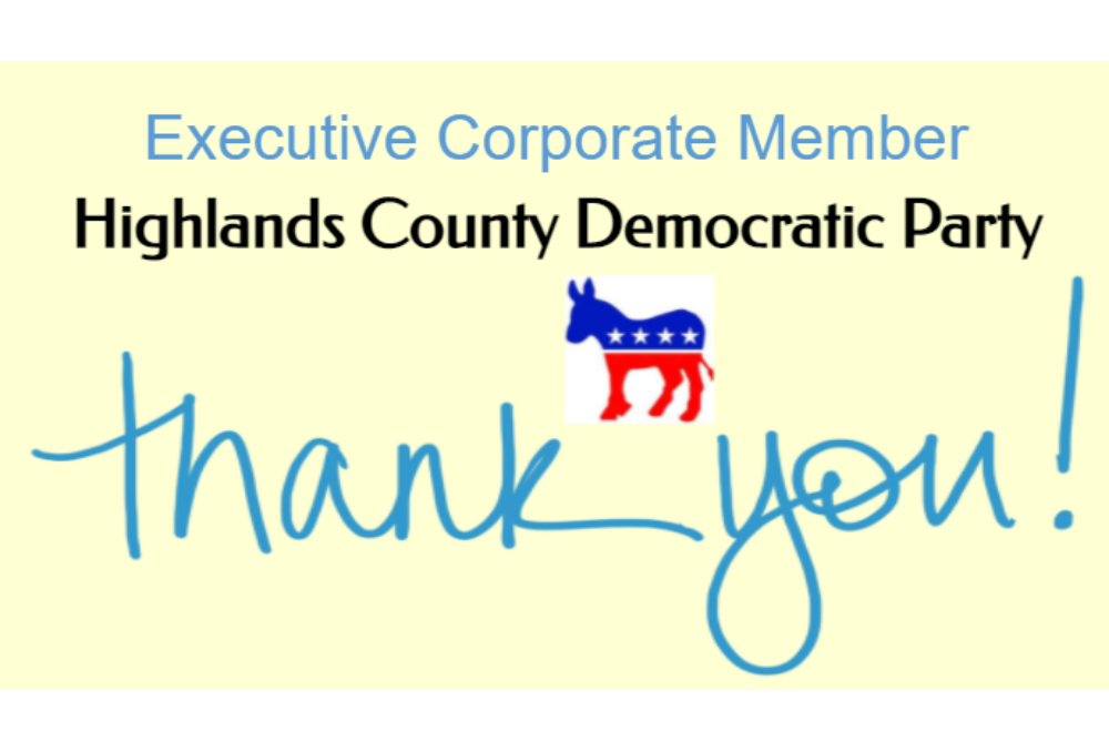 Highlands County Democratic Party Advertisement